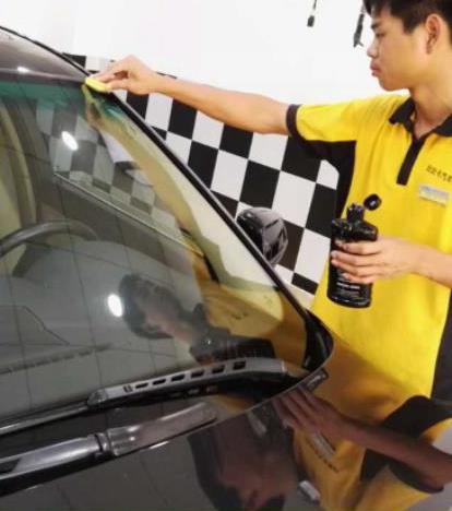 汽车美容培训分享汽车清洗时的注意事项