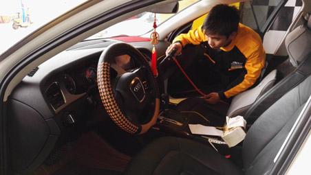 选择汽车美容培训机构的正确方式及其工作流程的介绍